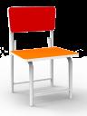 kursi sekolah expo msr 5134 orange bandung