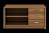 lemari buku mdd 1245 teakwood bandung